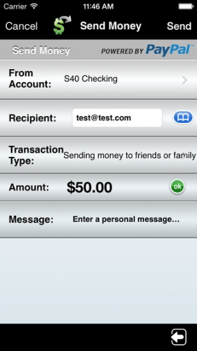Alliant Credit Union Mobile Banking - Transfers