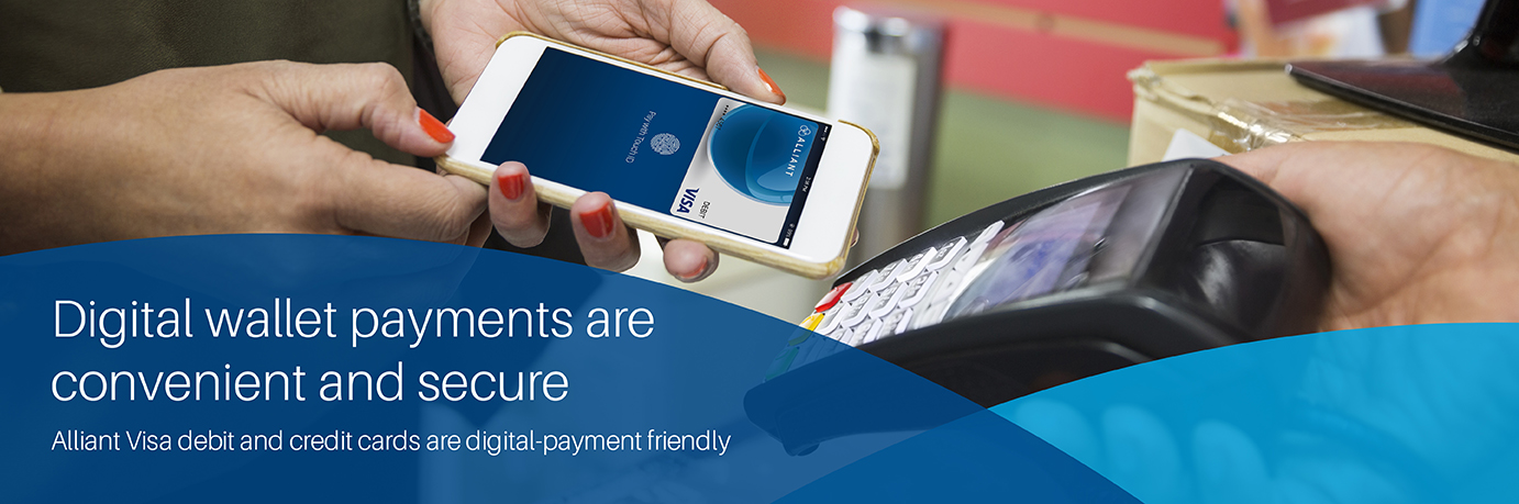 Digital wallet payments are convenient and secure