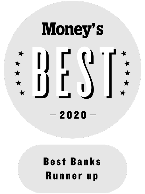 Money's Best Banks Runner Up 2020