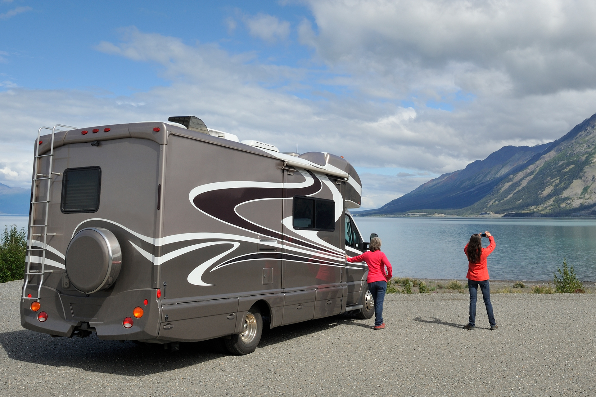 Women with an RV and happy with their RV loan and RV loan rate
