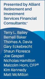 Alliant financial consultants