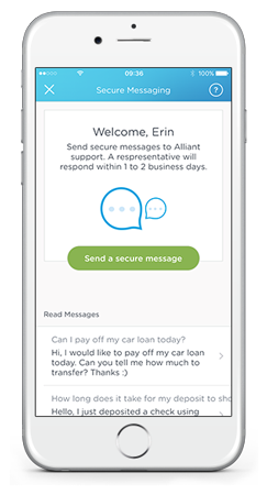 alliant credit union mobile banking features